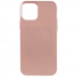 """""""Mercury"""" dėklas - šviesiai rožinis (iPhone 12 / 12 Pro)"""
