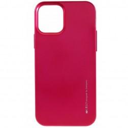 """""""Mercury"""" dėklas - tamsiai rožinis (iPhone 12 / 12 Pro)"""