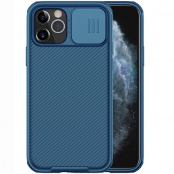 """Nillkin"" CamShield dėklas - mėlynas (iPhone 12 / 12 Pro)"