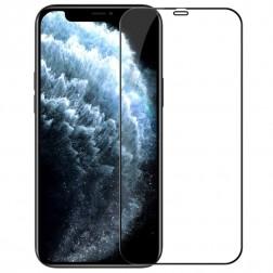 """""""Nillkin"""" CP 9H Tempered Glass apsauginis ekrano stiklas 0.33 mm - juodas (iPhone 12 / 12 Pro)"""