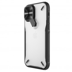 """""""Nillkin"""" CamShield Kickstand dėklas - skaidrus (iPhone 12 / 12 Pro)"""