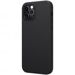 """""""Nillkin"""" Flex MagSafe dėklas - juodas (iPhone 12 / 12 Pro)"""