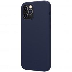 """Nillkin"" Flex MagSafe dėklas - mėlynas (iPhone 12 / 12 Pro)"