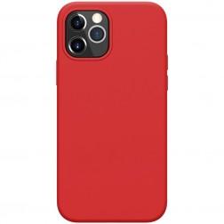 """""""Nillkin"""" Flex dėklas - raudonas (iPhone 12 / 12 Pro)"""