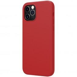 """""""Nillkin"""" Flex MagSafe dėklas - raudonas (iPhone 12 / 12 Pro)"""