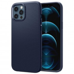 """Spigen"" Liquid Air dėklas - mėlynas (iPhone 12 / 12 Pro)"