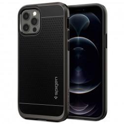 """Spigen"" Neo Hybrid dėklas - juodas (iPhone 12 / 12 Pro)"