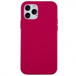 Kieto silikono (TPU) dėklas - tamsiai rožinis (iPhone 12 / 12 Pro)