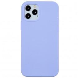 Kieto silikono (TPU) dėklas - violetinis  (iPhone 12 / 12 Pro)