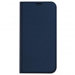 """""""Dux Ducis"""" Skin atverčiamas dėklas - tamsiai mėlynas (iPhone 13)"""