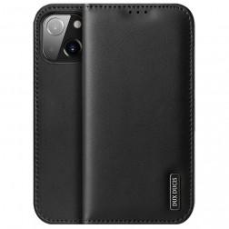 """""""Dux Ducis"""" Hivo atverčiamas dėklas - juodas (iPhone 13 Mini)"""