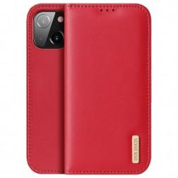 """""""Dux Ducis"""" Hivo atverčiamas dėklas - raudonas (iPhone 13 Mini)"""