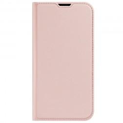 """""""Dux Ducis"""" Skin atverčiamas dėklas - rožinis (iPhone 13 Mini)"""