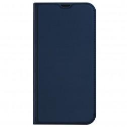 """""""Dux Ducis"""" Skin atverčiamas dėklas - tamsiai mėlynas (iPhone 13 Pro)"""