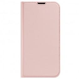 """""""Dux Ducis"""" Skin atverčiamas dėklas - rožinis (iPhone 13 Pro)"""