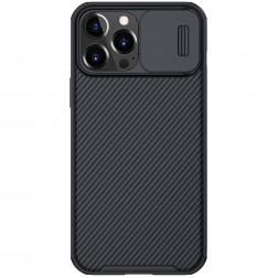 """""""Nillkin"""" CamShield dėklas - juodas (iPhone 13 Pro Max)"""