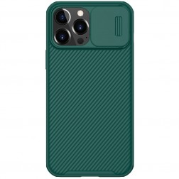 """""""Nillkin"""" CamShield dėklas - žalias (iPhone 13 Pro Max)"""