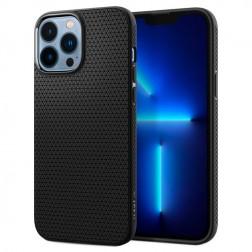 """""""Spigen"""" Liquid Air dėklas - juodas (iPhone 13 Pro Max)"""