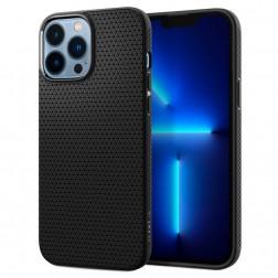 """""""Spigen"""" Liquid Air dėklas - juodas (iPhone 13 Pro)"""