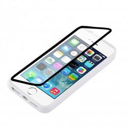 Plastikinis atverčiamas dėklas - skaidrus (iPhone 4 / 4S)