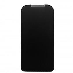 Vertikaliai atverčiamas dėklas - juodas (iPhone 4 / 4S)