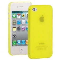 Ploniausias pasaulyje dėklas - geltonas (iPhone 4 / 4S)