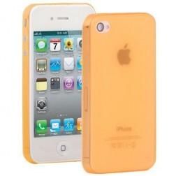 Ploniausias pasaulyje dėklas - oranžinis (iPhone 4 / 4S)