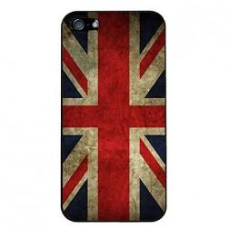Retro stiliaus dėklas - D. Britanijos vėliava (iPhone 4 / 4S)