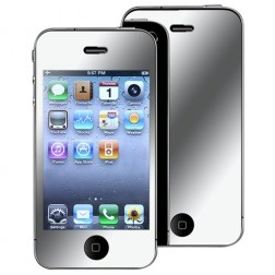 """""""ISME"""" apsauginė ekrano plėvelė - veidrodinė (iPhone 4 / 4S)"""