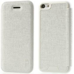"""""""JZZS"""" atverčiamas dėklas - baltas (iPhone 5C)"""