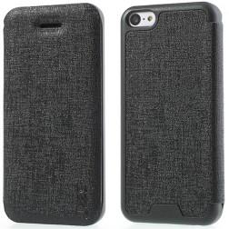 """""""JZZS"""" atverčiamas dėklas - juodas (iPhone 5C)"""