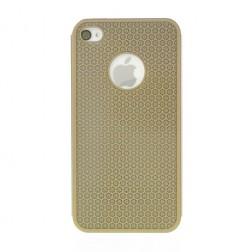 Stilingas, metalo dėklas - auksinis (iPhone 4 / 4S)