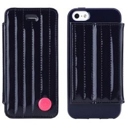 """""""8thdays"""" Jessie's Melody dėklas - tamsiai mėlynas (iPhone 5 / 5S / SE)"""