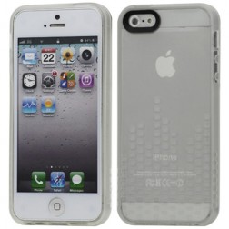Stilingas silikoninis dėklas - skaidrus (iPhone 5 / 5S / SE)