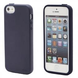 """""""Elago"""" dėklas - mėlynas + apsauginė plėvelė (iPhone 5 / 5S / SE)"""