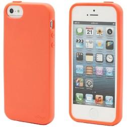 """""""Elago"""" dėklas - oranžinis + apsauginė plėvelė (iPhone 5 / 5S / SE)"""