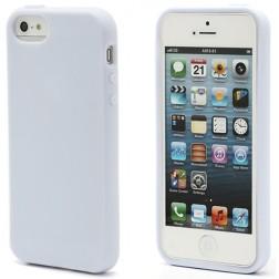 """""""Elago"""" dėklas - baltas + apsauginė plėvelė (iPhone 5 / 5S / SE)"""