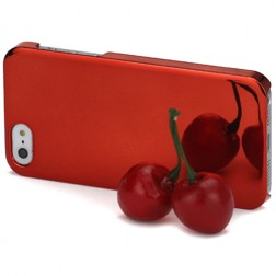Veidrodinis dėklas - raudonas (iPhone 5 / 5S / SE)