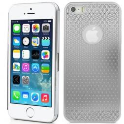 Stilingas, metalo dėklas - sidabrinis (iPhone 5 / 5S / SE)