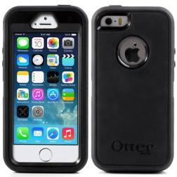 """""""OtterBox"""" Defender dėklas - juodas (iPhone 5 / 5S / SE)"""