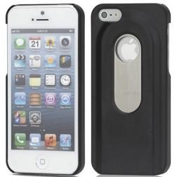 Dėklas atidarytuvas - juodas (iPhone 5 / 5S / SE)