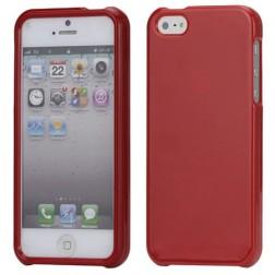 """""""Snap-on"""" plastikinis dėklas - raudonas (iPhone 5 / 5S / SE)"""