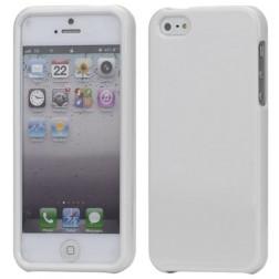 """""""Snap-on"""" plastikinis dėklas - baltas (iPhone 5 / 5S / SE)"""