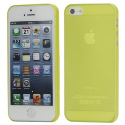 Ploniausias pasaulyje dėklas - geltonas (iPhone 5 / 5S / SE)
