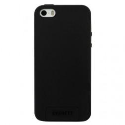 """""""Cygnett"""" kieto silikono (TPU) dėklas - juodas (iPhone 5 / 5S / SE)"""