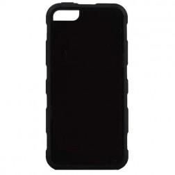 """""""Likgus"""" sustiprintos apsaugos dėklas - juodas (iPhone 5 / 5S / SE)"""
