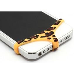 Telefono apatiniai - geltoni, leopardiniai