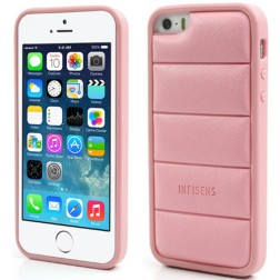 """""""Infisens"""" dėklas - rožinis (iPhone 5 / 5S / SE)"""