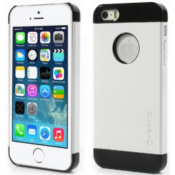 """""""Verus"""" dėklas - baltas/juodas (iPhone 5 / 5S / SE)"""