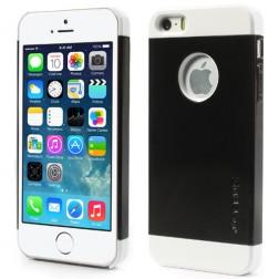 """""""Verus"""" dėklas - juodas/baltas (iPhone 5 / 5S / SE)"""
